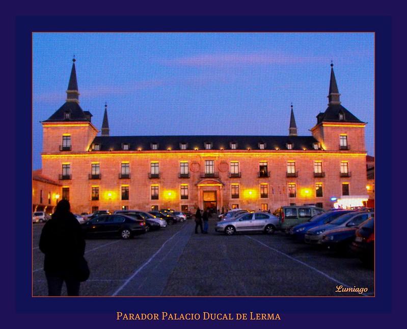 El Palacio Ducal de Lerma, Burgos
