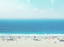 Playa Copacabana en Rio de Janeiro