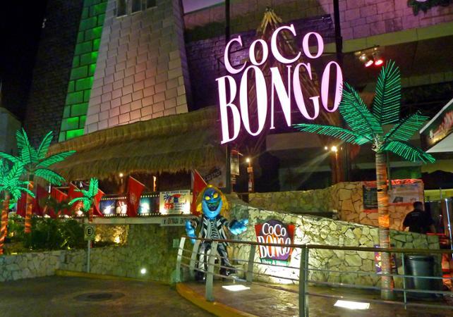 Coco Bongo en Cancun, Mexico.